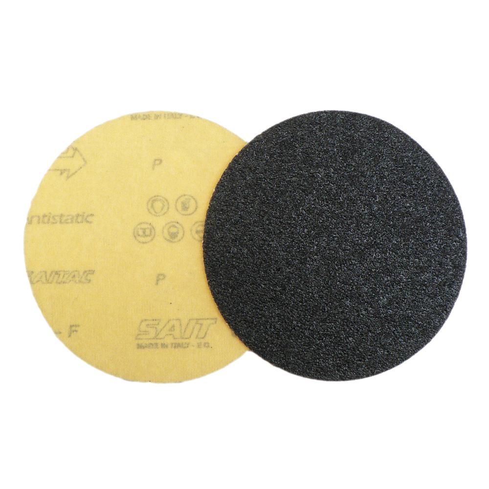Krążki ścierne 125mm bez otworów na rzep węglik krzemu SAIT CE/CF